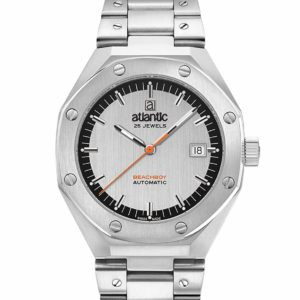 Atlantic Watches Beachboy Steel Silver Dial