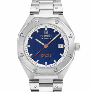 Atlantic Watches Beachboy Steel Blue Dial