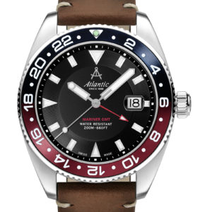 Atlantic Watches Mariner Quartz GMT Collection