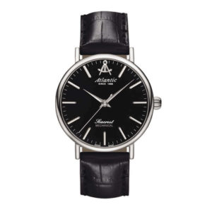 Atlantic Watches Seacrest Ladies Mechanical Black