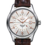 Atlantic Watches Worldmaster 1888 Automatic GMT Rose Gold PVD Accents