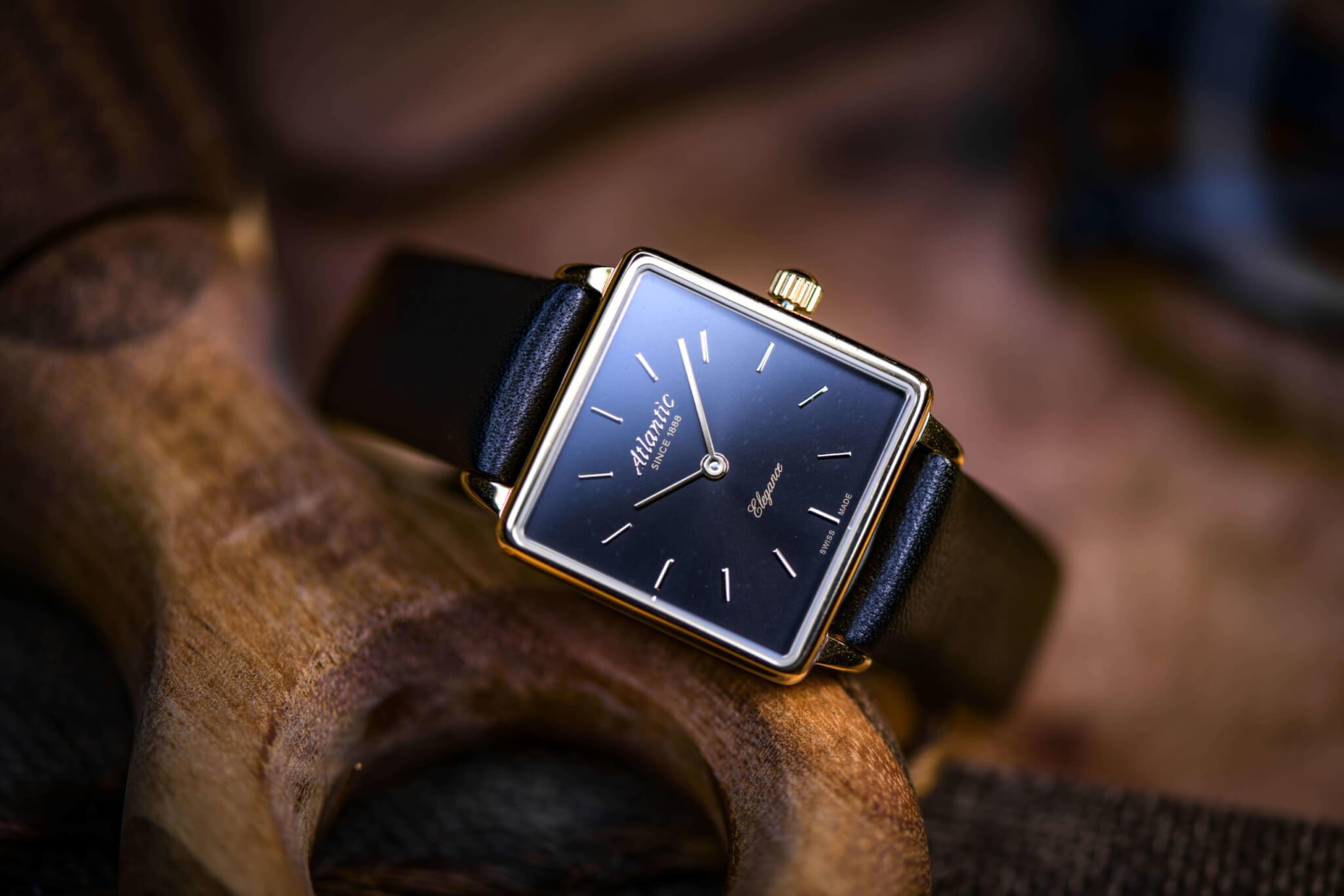 Atlantic Watches | Elegance Square Ladies Collection
