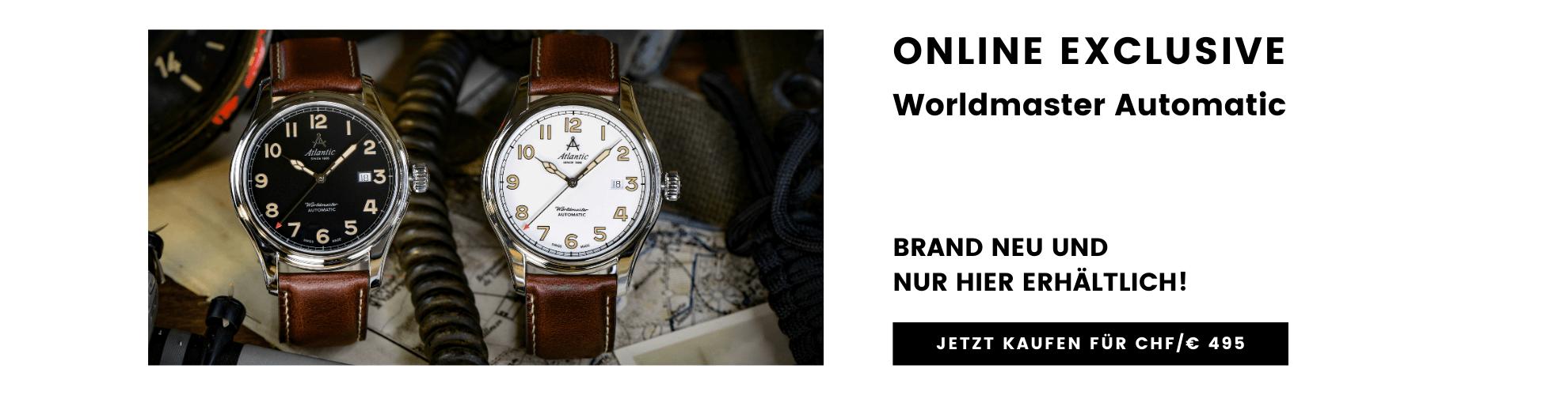 Atlantic Worldmaster Automatic Online Exclusive - Jetzt Kaufen